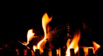 Bilde av flammer