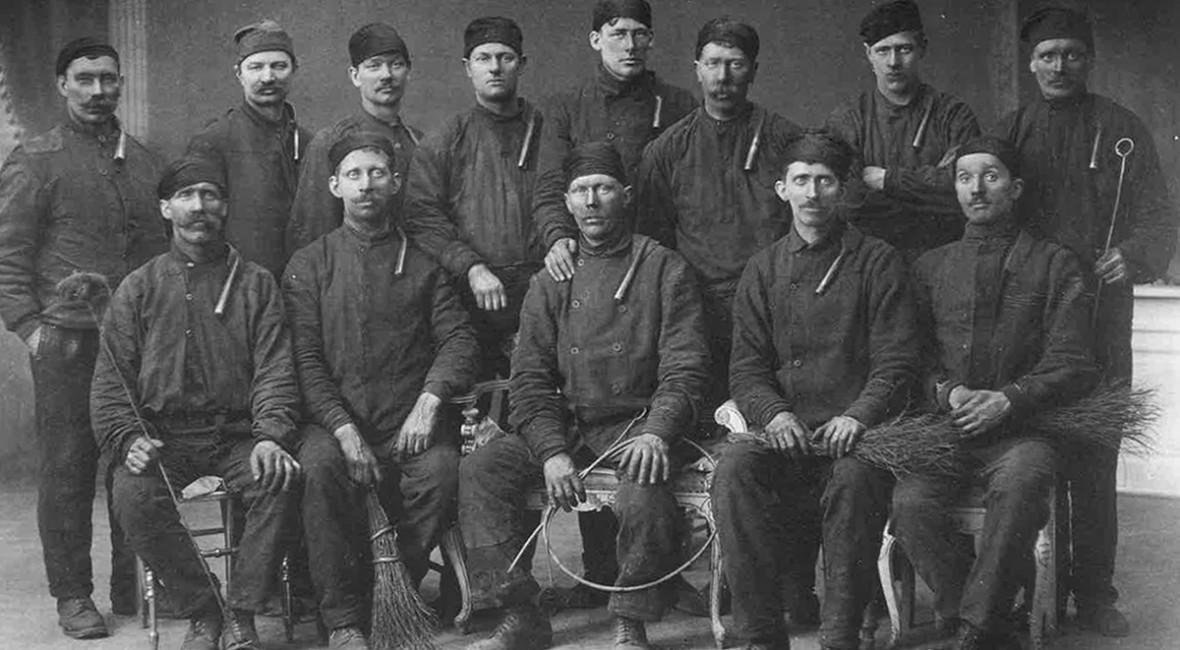 Feiervenner fra Oslo 1914.