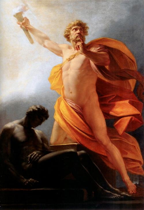 Prometheus brakte ilden til menneske.