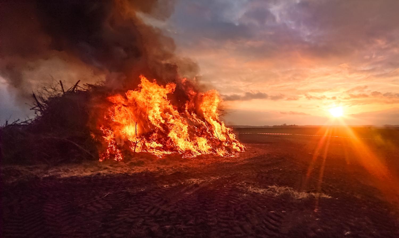 levende ild kan ha påvirket menneskesinnet