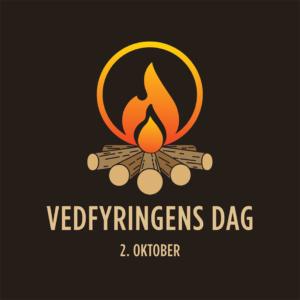 Logo bål Vedfyringens dag
