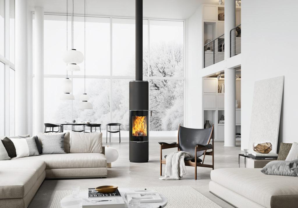 Peistrender 2021: Ildstedet skal integreres som et sentralt møbel i hjemmet